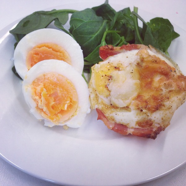 Bacon and Egg Muffin Cups | stephsayssmile